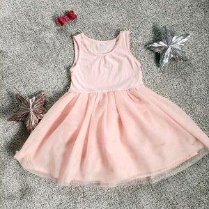 Toddler girl fit & flair tutu dress